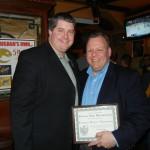 Autism Speaks Chairman Tim Egan with Patrick D. Thompson