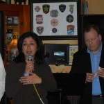 Autism Speaks Lisa Hernandez Addresses the Crowd