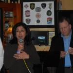Autism Speaks Lisa Hernandez Addresses the Crowd